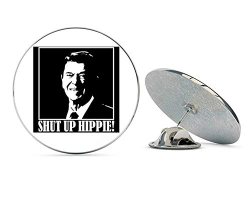 - NYC Jewelers Ronald Reagan Shut Up Hippie Metal 0.75