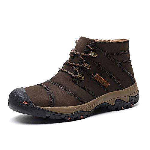 amp;h B Cuir H Chaussures Bottes Et Hommes Hommes D'hiver De D'escalade Pour En Baskets Randonnée qwASB4