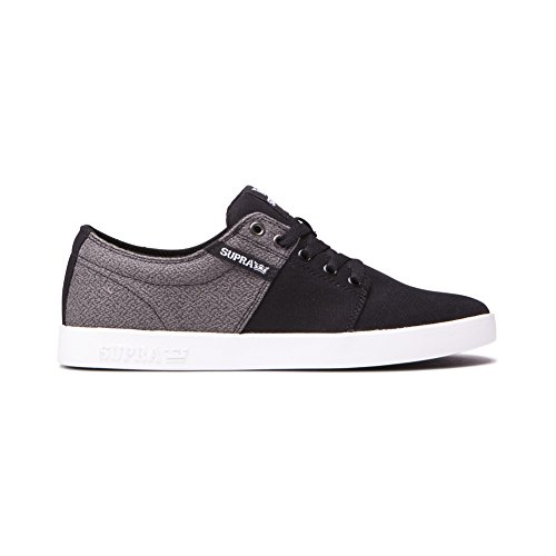Supra Stacks Ii Mens Trainers Black/White-white clearance discount reliable online visit online genuine online free shipping perfect aJFdgm
