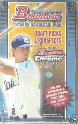 2002 Bowman Draft Baseball Card Unopened Hobby Box ()