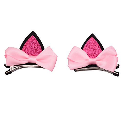 Baby Hair Bows Clip Hairbows Hairpins with Sequins Shinning Fashion Accessories for Girl Teens(2 (Baby Monkey Costume Diy)