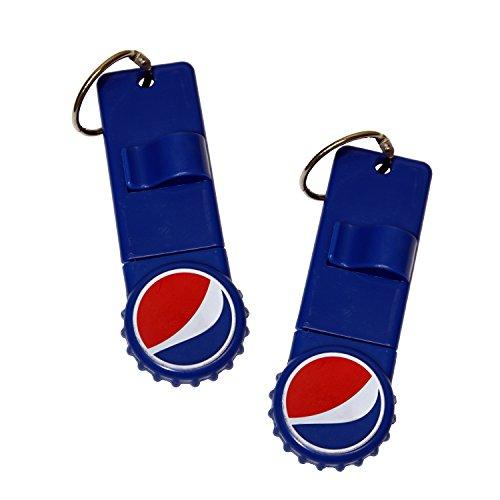 Jokari 2 Count Pepsi Modern Logo Reward Card Holders, Red/White/Blue
