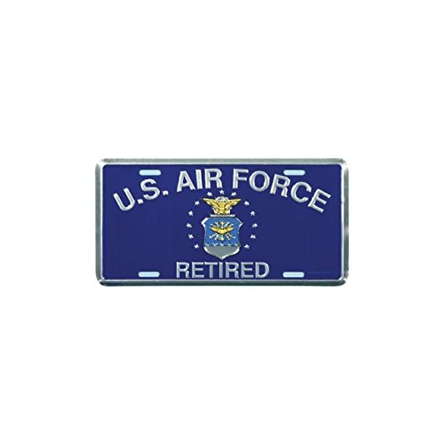 us-air-force-retired-license-plate