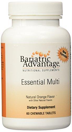 Bariatric Advantage Chewable Multi-vitamin Orange 60 ct by Bariatric Advantage (Optimum Antioxidant)