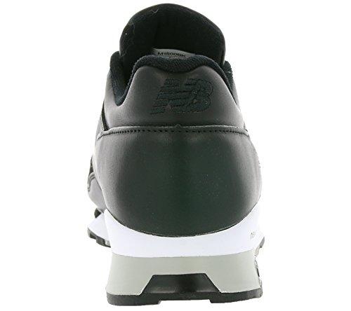 Made M1500BK New réel in Balance Bk UK Black cuir 1500 noir baskets Hommes en wBaBgPq