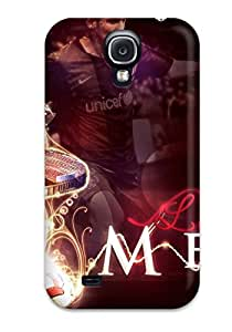 Flexible Tpu Back Case Cover For Galaxy S4 Lionel Messi Tricks