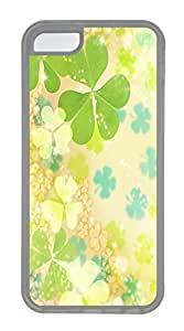 iPhone 5c Case Unique Cool iPhone 5c TPU Transparent Cases Summer Is Pure And Fresh And Green Design Your Own iPhone 5c Case