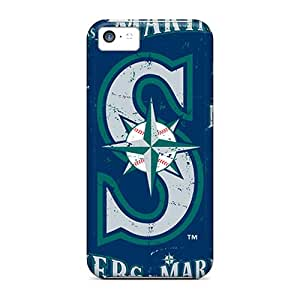 Iphone 5c FwW2361cNLl Support Personal Customs Beautiful Seattle Mariners Skin Bumper Phone Cases -AlissaDubois