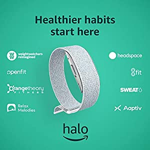 Amazon Halo – Measure activity, sleep, body composition, and tone of voice - Winter + Silver - Medium 1