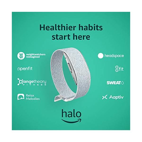 Amazon Halo – Measure activity, sleep, body composition, and tone of voice - Winter + Silver - Medium 1