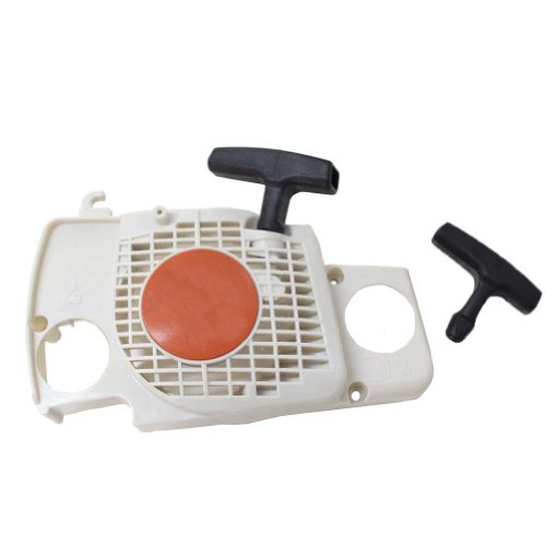 New Pack of Recoil Pull Starter + Start Handle fit for Stihl Ms170 Ms180 Ms180c 017 018 Chainsaw Replace 1130 080 - Pull Fit