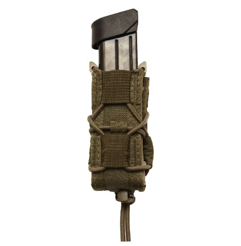 HSGI Single P Taco Magazine Pouch Fits All Double And Single Stack mags Color Smoke - Green Smoke Colour