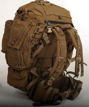 Coyote USMC Marine FILBE Rucksack Complete Pack System by Eagle