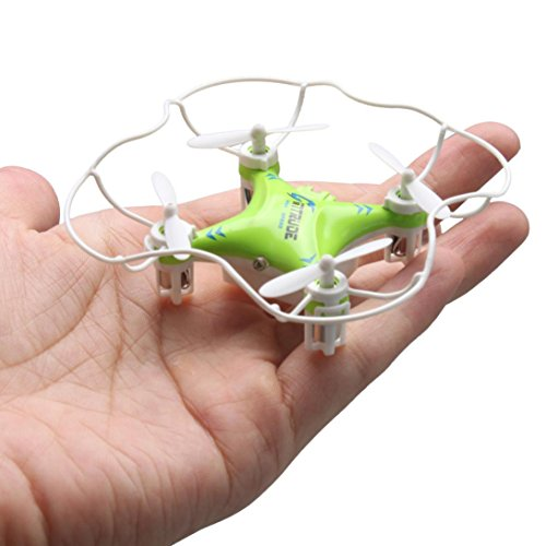Sunward New Mini 3D Fly M9912 Radio Control 2.4GHz 6Axis Gyro Drone RC Quadcopter LED Light (one size, Green) by M9912