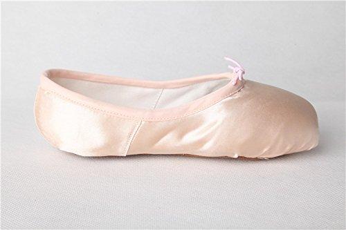 Ballett Anfänger Pointe Satin Spitzenschuhe für Toe Tanz Swallowuk Rosa Damen Schuhe Schuhe fwq1BxF5x