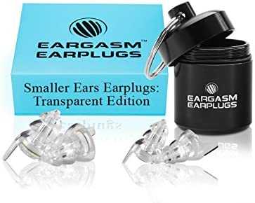 Eargasm Smaller Ears Earplugs Transparent product image