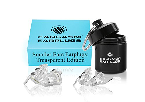 Eargasm Smaller Ears Earplugs: Transparent Edition
