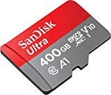 Professional Ultra SanDisk 400GB V30+ MicroSDXC card with CUSTOM Hi-Speed, Lossless Format! Includes Standard SD Adapter. (A1/UHS-1 Class 10 Certified 100MB/s)