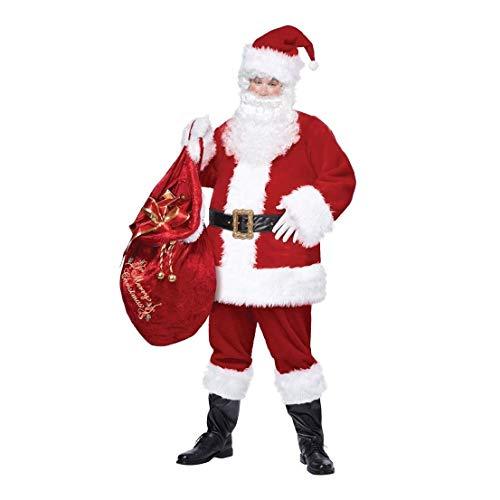 - Santa Claus Deluxe Adult Mens Costume California Costume