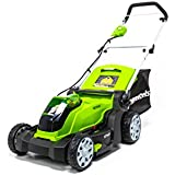 Greenworks 17-Inch 40V Cordless Lawn Mower, Battery Not Included MO40B01