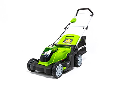 Greenworks 17-Inch 40V Cordless Lawn Mower, Battery Not Included MO40B01 by Greenworks