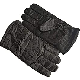 Grab Offers Men's and Women's Soft Fleece Waterproof Windproof Full Finger Bike Warm Spring Autumn Winter Gloves (Medium…