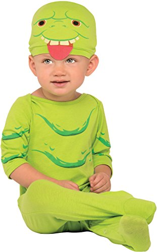 Rubie's Costume Co. Baby Ghostbusters Classic Slimer Jumper, As Shown, 6-12 (Ghostbusters Baby)