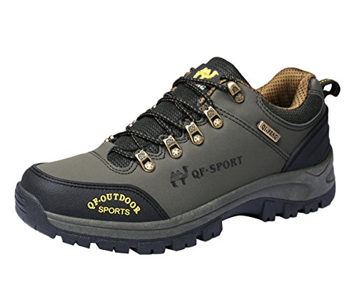 SK Studio Women's Unisex Genuine Leather Hiking Shoes As Picture(Men) EG4FQX8