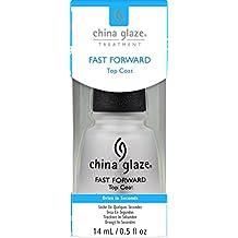 China Glaze Fast Forward Top Coat Nail Polish, 0.5 Ounce