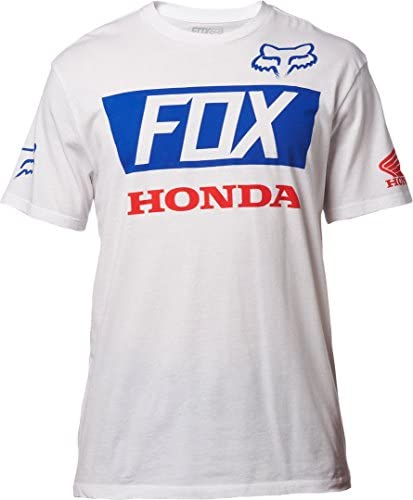 Fox Camiseta Honda Azul: Amazon.es: Coche y moto