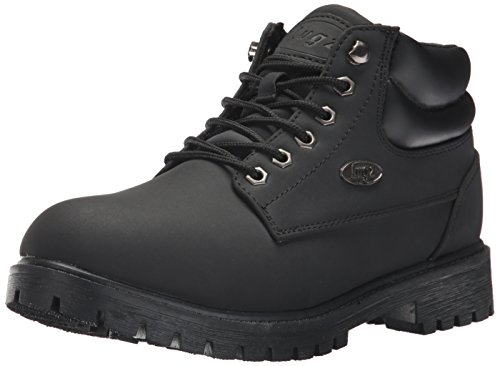 Lugz Men's Nile Mid Fashion Boot Black Durabrush outlet cheap z4uJWv