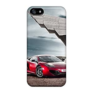 Flexible Tpu Back Case Cover For Iphone 5/5s - Mclaren Mp4 12c