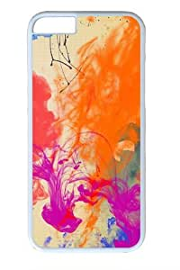 Color Custom iphone 6 (4.7) inch Case Cover Polycarbonate White