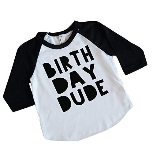Bump and Beyond Designs Boy Birthday Shirt Kids Birthday Dude Shirt for Boys