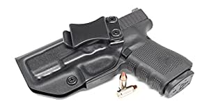 Concealment Express IWB KYDEX Holster Waistband Concealed Carry Holster, Black - Left Hand