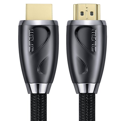 4K Ultra HD HDMI Cable 35ft - High Speed HDMI 2.0 Supports 4K 60hz, 1080p 240hz, 3D 120hz, HDCP 2.2 and ARC - 24AWG by MINC