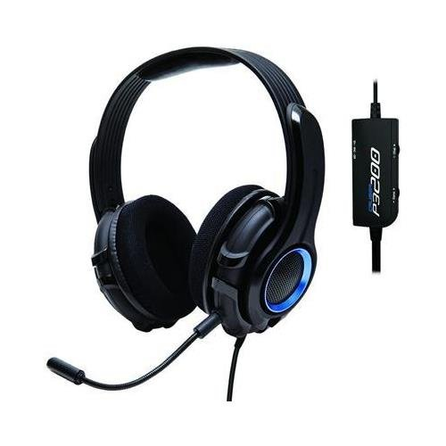 GamesterGear SYBA OG-AUD63075 Cruiser P3200 Stereo Gaming Headset Compatible with PS3 & PC Hand-Washable Removable Ear-Cup