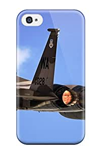 Cute Tpu F 15 Eagle From Nellis Air Force Base Case Cover For Iphone 4/4s