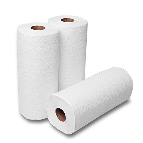 2 Ply Giant Paper Towel Rolls Pack of 4= 16 Regular Rolls