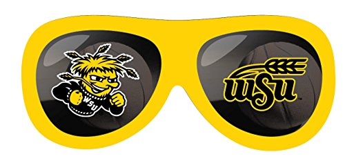 WICHITA STATE SHOCKERS BASKETBALL SUNGLASSES MAGNET-WICHITA STATE BASKETBALL - Wichita Sunglasses
