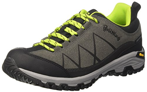 Adulto Senderismo Low Lemon Zapatos Schwarz Rise de Anthrazit Anthrazit Unisex Kansas Bruetting Negro Lemon Schwarz qH0W4Sw