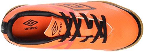 Umbro 80924U-Dk9 - Zapatillas para niño, color naranja fluor / negro / blanco, talla 33