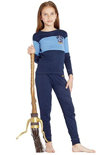 HARRY POTTER Quidditch House Crest Cotton Pajama, Ravenclaw, 10