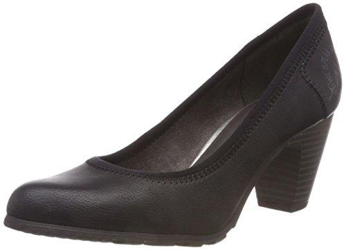 Negro black 21 De 22404 Para oliver Zapatos 1 Tacón S Mujer 8qSA4zW