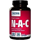 Jarrow N-Acetyl-L-Cysteine 500mg (100 Caps) (Multi-Pack)