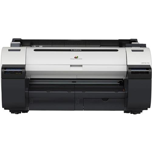 Canon imagePROGRAF iPF670 24'' Large Format Printer - without Stand by Canon, Inc