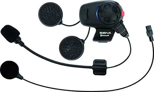 Sena Bluetooth Headset and Intercom for Scooters/Motorcycles with Universal Microphone Kit
