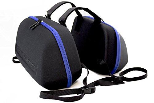 Chase Harper 3100MCM Black Stealth Saddle Bag - 36.5 Liters by Chase Harper USA