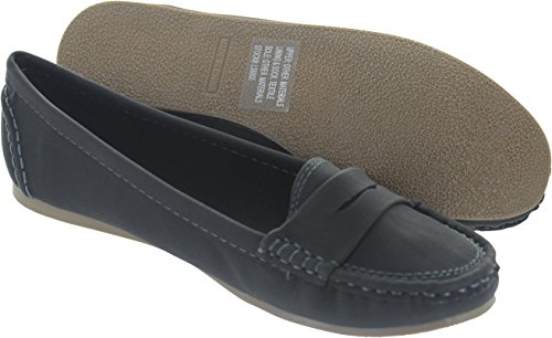 Odeon Women's Ls6805 Synthetic Loafers 53gfCAYfw