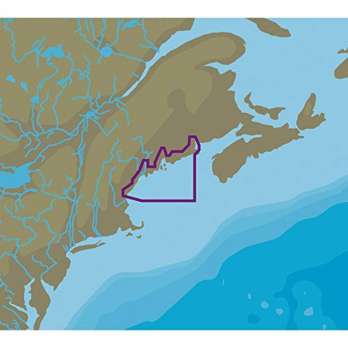C-MAP NT+ NA-C330 Passamaquoddy Bay to Portsmouth - C-Card Format